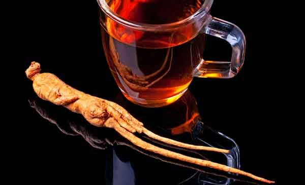 Ginseng-Tee