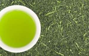 Grüner Tee zubereitet