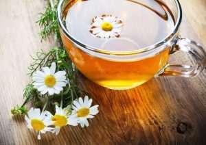 Gänseblümchen Tee