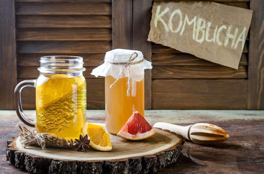 Kombucha-Tee