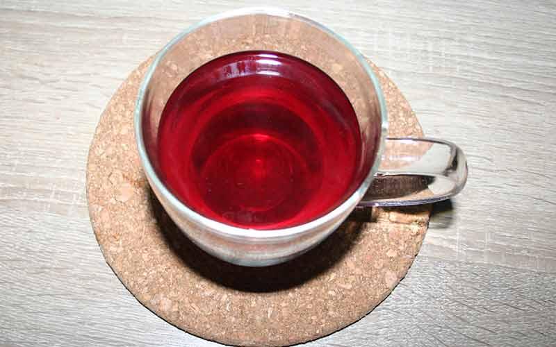 Zubereiteter Eistee AquaFrutti von Kusmi Tea