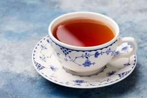 Tasse leckerer Tee