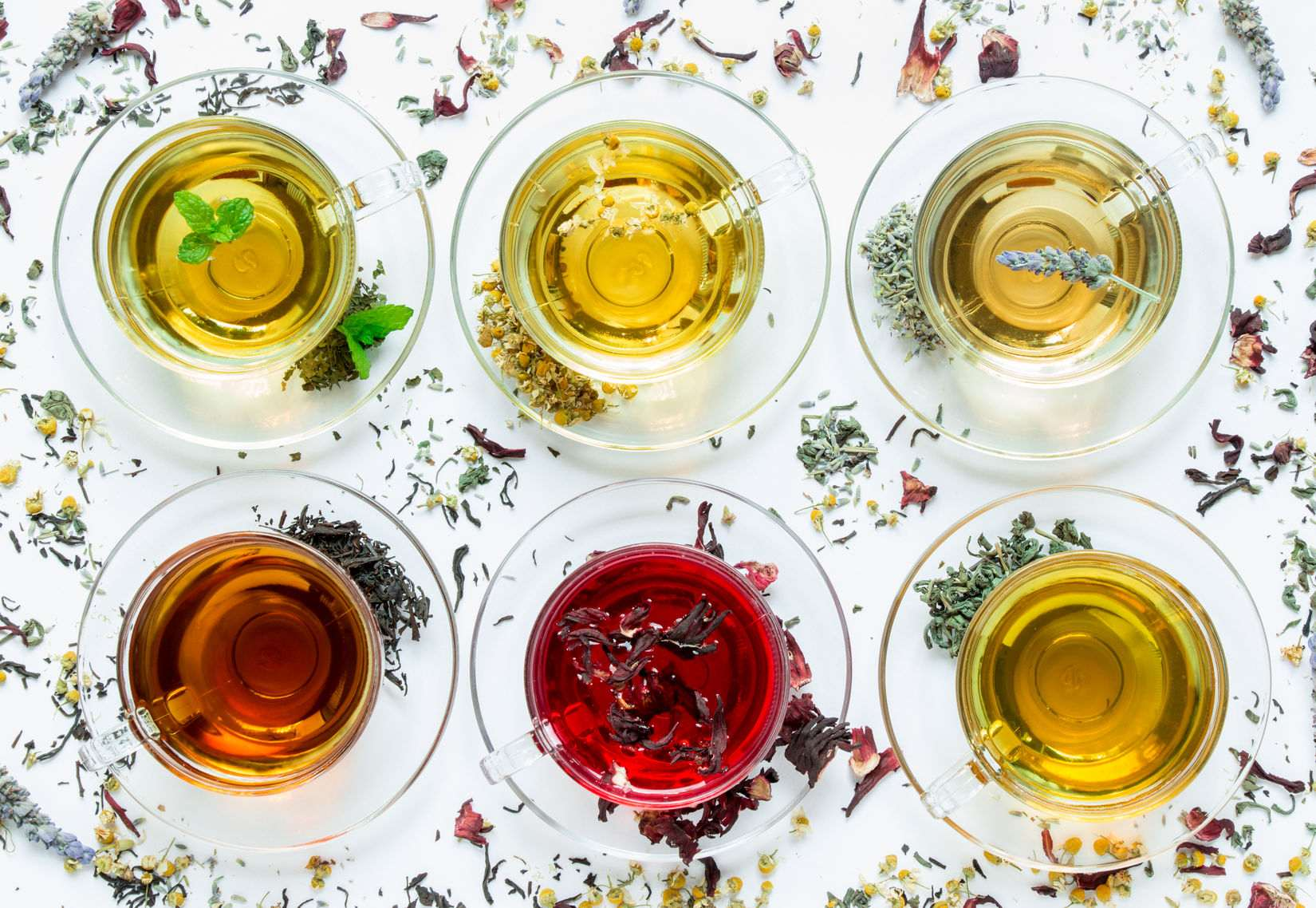 Tee-Vielfalt