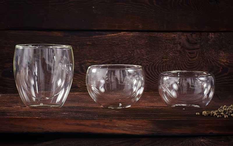 Teegeschirr aus Glas