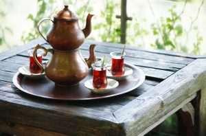 türkische Teekanne